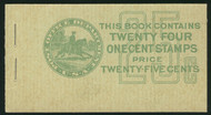 # 632a BK75 COMPLETE BOOK, post office fresh, Nice!