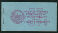 # 806b BK95 2.5mm COMPLETE BOOK, super RARE, post office fresh, SELECT!