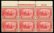# 329 F/VF OG NH, better centered than normally seen,  CHOICE!