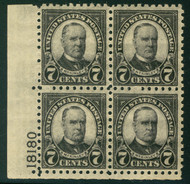 # 588 VF OG NH, very well centered for this series,  CHOICE!