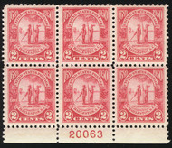 # 683 VF/XF OG NH, well centered