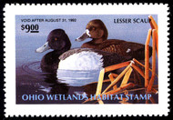 #STATE DUCK, Oh no 10 OG NH, w/PSE (GRADED 98 (7/17)) CERT, near perfect state duck stamp,  SUPER!