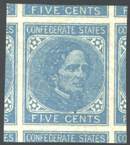 Confed # 7 JUMBO GEM OG NH, w/PSE (GRADED 100-JUMBO (09/13)) CERT, TOP OF THE POPULATION, THE FINEST!