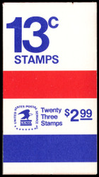 #1595 Complete Book with EXTRA PANE of 8 stamps,  VF OG NH, UNLISTED ERROR BOOK,   SUPER NEAT ERROR!