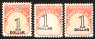 #J100 SHIFTED VALUE, 3 different $1 values,   shifted in three directions,  NEAT!