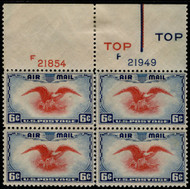 #C 23 F/VF OG NH, TOP, better plate