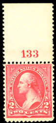 # 266 F/VF OG NH, well centered, Nice!
