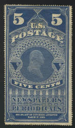 #PR  5 F/VF NH no gum as issued, Super Fresh!