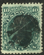 #  89 VF, clear grill, seldom seen with centering this nice, Fresh!