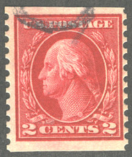 # 444 F/VF, well centered, nice!