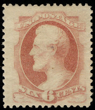 # 186 VF/XF JUMBO OG VLH, w/PF (11/87 and 02/05) CERTS, large margins, super fresh color!