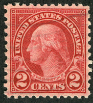 # 579 XF, very faint cancel, looks mint,  extremely well centered for this notorious off centered issue, CHOICE!