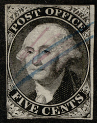 #    9x1 VF, lovely stamp, super fresh, faint blue cancel, Select!