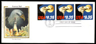 #1909 First Day Cover, Complete Pane, Colorado Silk, Unaddressed, nice!