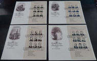 #2216 -2219 FIRST DAY COVERS,  fresh and full sheets, SUPER NICE!