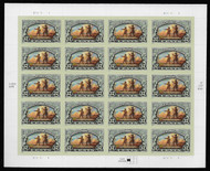 #3854 37c  Lewis & Clark Expedition Sheet, VF mint never hinged, fresh   STOCK PHOTO