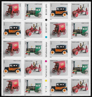 #3629e Forever Toy Vehicles Booklet Pane, VF mint never hinged, fresh   STOCK PHOTO