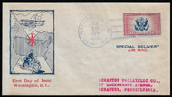 #CE2 First Day Cover, addressed to Scranton Philatelic Co, Nice!