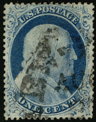 #  23 VF, w/PF (05/07) CERT, well centered, we do not even see the toning, perforations are present, NICELY CENTERED!
