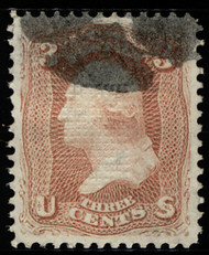 #  94a XF-SUPERB, w/PSAG (GRADED 95 (01/16) CERT,  only 1 other shares this color grade,  TOP OF THE POPULATION!