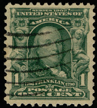 # 300 XF-SUPERB, w/PSE (GRADED 95 (11/13)) CERT, a cheaper stamp, but tough to find in this high grade,   SUPER SELECT!