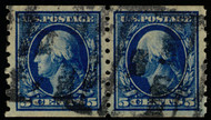 # 396 XF, Pair, w/PSE (GRADED 90 (03/15 and 12/07)) and PF (05/05) CERTS, a very large margined coil, we would call this a JUMBO in the fields of coils,  Only 2 grade higher at 95,  SUPER RARE PAIR!