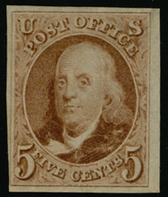 #   3 VF/XF, w/PF (09/07) CERT, lovely fresh color, two tiny thins, VERY FRESH STAMP!