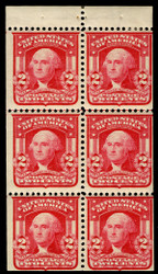 # 319p VF OG VLH, superior color, well centered, VERY FRESH!