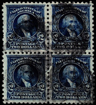 # 479 VF, Block, rare used block of 4, Nicely centered, Fresh!