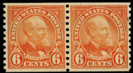 # 723 XF-SUPERB OG NH, Pair, w/PSE (GRADED 95 (03/15)) CERT,  a super coil pair,  VERY TOUGH TO FIND THIS NICE!