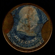 #EP  2 VF, mint, mica intact and fresh color,  Ayer's Pills, minor crack which is normal,   SUPER NICE!