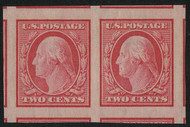 # 344 JUMBO GEM OG NH, Pair, w/PSE (GRADED 100- JUMBO (08/20)) CERT,  TOP OF THE POPULATION!    VERY TOUGH PERFECT PAIR!
