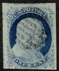 #   9 VF JUMBO, faintly canceled, Super Nice!