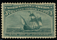 # 232 XF OG LH, w/PSE (GRADED 90 (05/03)) CERT,  very fresh stamp super color, Choice!