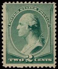 # 213 VF/XF OG NH, w/Crowe (10/20) CERT, a fabulous stamp , super fresh just broken out of a block,  SELECT!