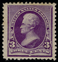 # 221 VF/XF JUMBO OG H, w/Crowe (10/20) CERT, a remarkable stamp, super sized,  CHOICE!