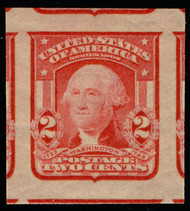 "# 320b JUMBO GEM OG NH, w/PSE (GRADED 100 JUMBO (05/15)) CERT, ""SCARLET"", TOP F THE POP!"