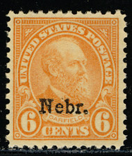 # 664 XF OG NH, larger than normally seen margins,   SELECT!