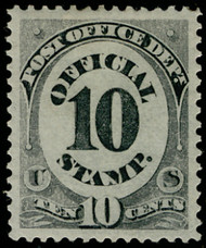 #O 51 SUPERB OG H, w/PSAG (GRADED 98 (03/20) CERT, a mammoth stamp with near perfect centering, SUPERB SELECT GEM!  Top OF THE POPULATION!
