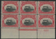 "# 295 F/VF OG NH, ""LOW TRAIN"" a super shift, super LOW train,  SELECT!"