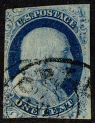 #   7 VF, fresh color, nice cancel!