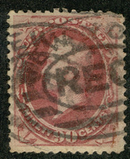 # 191 VF/XF, one nibbled perf, Nice!