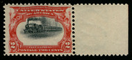 "# 295 VF OG NH, ""VERY HIGH TRAIN"", post office fresh, SUPER SHIFT!"