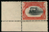"# 295 VF OG NH, ""VERY SLOW TRAIN"", post office fresh, SUPER SHIFT!"