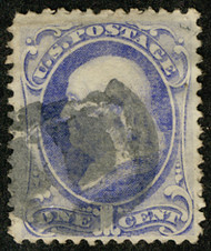 # 134 VF/XF, extremely well centered, CHOICE!
