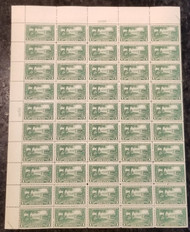 # 617 VF OG NH, sheet of 50,  Super Fresh!