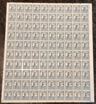 # 648 5c Hawaii, Sheet of 100, VF/XF OG NH, very well centered, Post Office Fresh,  A SELECT SHEET!