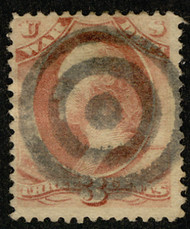 #O 85 Fine+, Bold well struck target cancel, socked on the nose cancel, NICE!