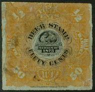 #REA 34 VF, fresh color, nice cancel, minor thin a top, beer stamps are all valued with faults,   VERY NICE!