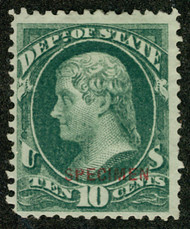 #O 62s F/VF mint no gum as issued NH, deep bold color, Fresh!